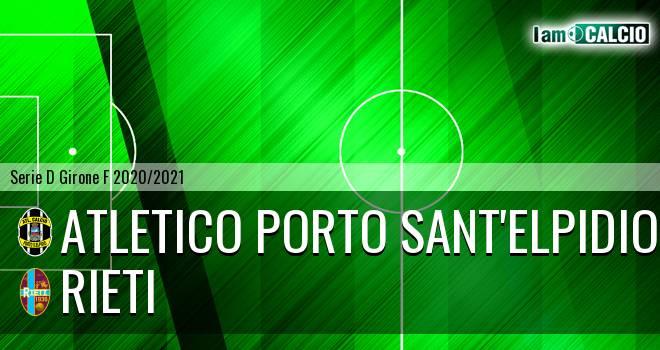 Atletico Porto Sant'Elpidio - Rieti