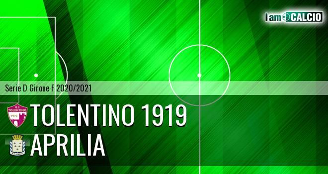 Tolentino 1919 - Aprilia