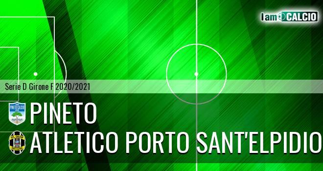 Pineto - Atletico Porto Sant'Elpidio
