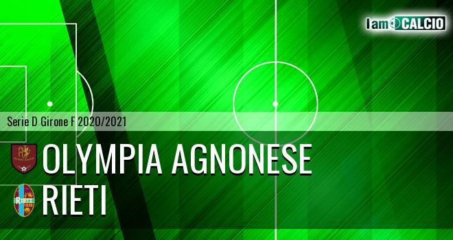 Olympia Agnonese - Rieti