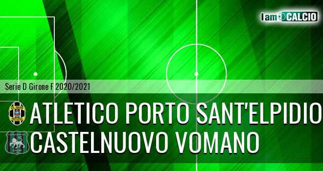 Atletico Porto Sant'Elpidio - Castelnuovo Vomano