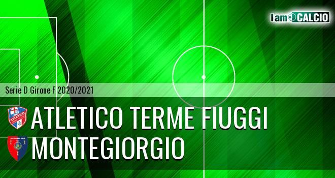 Atletico Terme Fiuggi - Montegiorgio