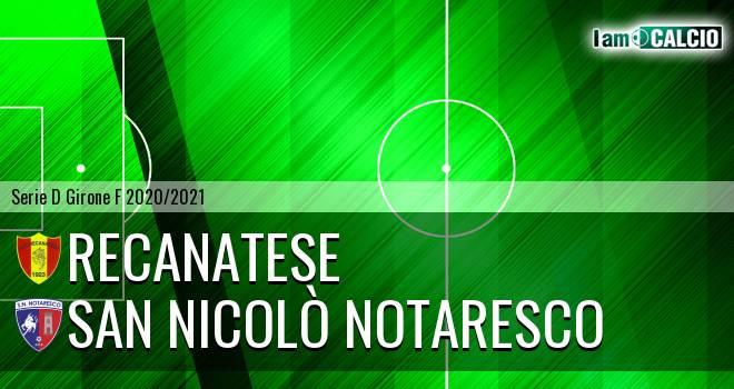 Recanatese - San Nicolò Notaresco