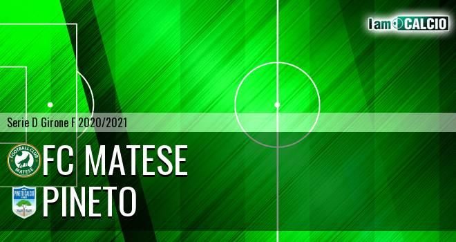 FC Matese - Pineto