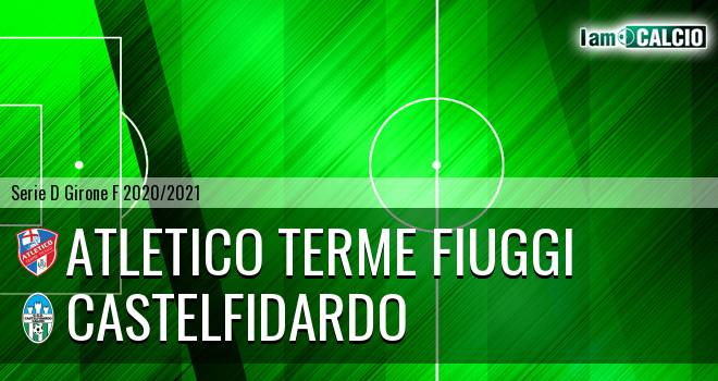 Atletico Terme Fiuggi - Castelfidardo