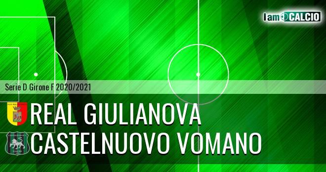 Real Giulianova - Castelnuovo Vomano