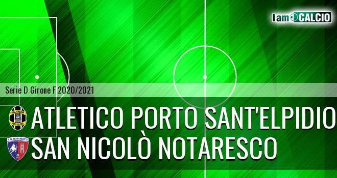 Atletico Porto Sant'Elpidio - San Nicolò Notaresco