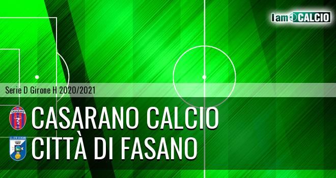 Casarano Calcio - Citta' di Fasano