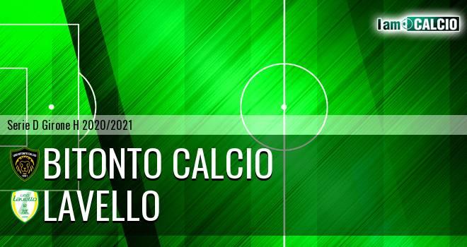 Bitonto Calcio - Lavello