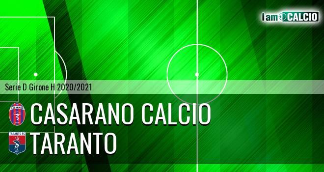 Casarano Calcio - Taranto