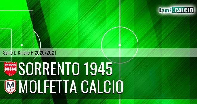 Sorrento 1945 - Molfetta Calcio
