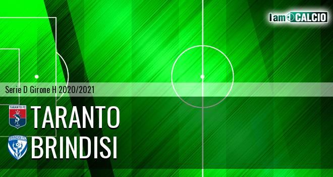 Taranto - Brindisi 1-0. Cronaca Diretta 22/11/2020