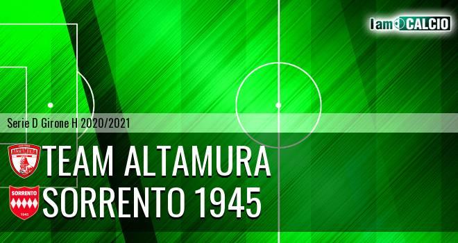 Team Altamura - Sorrento 1945