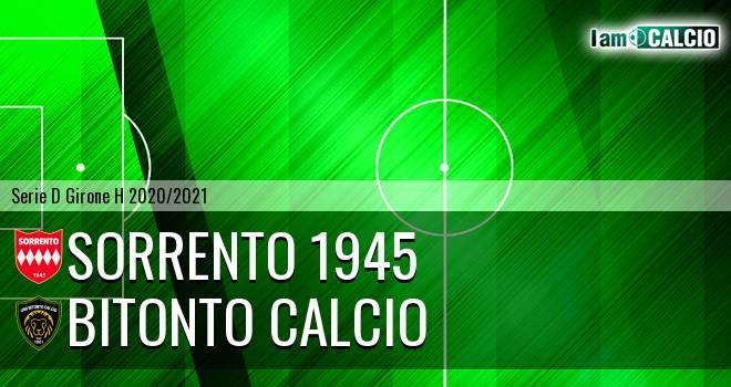 Sorrento 1945 - Bitonto Calcio