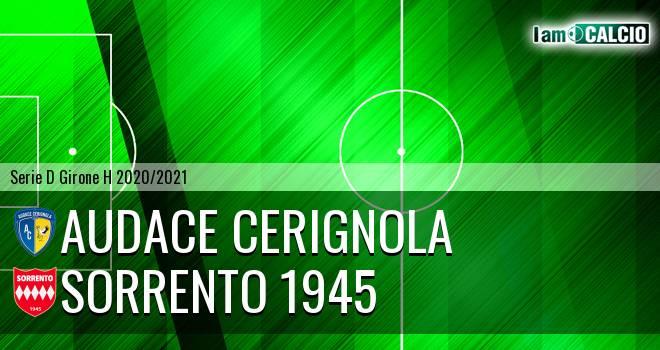 Audace Cerignola - Sorrento 1945