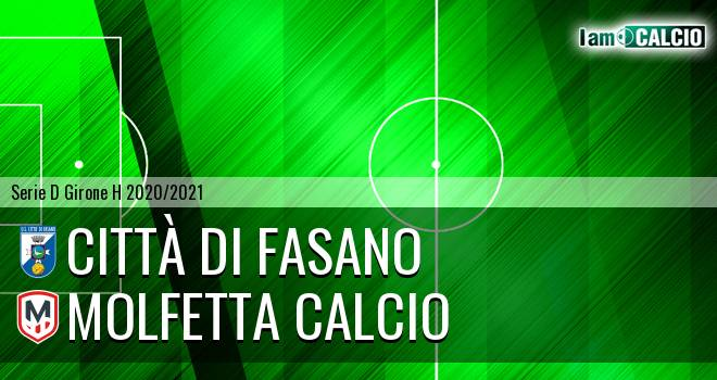 Citta' di Fasano - Molfetta Calcio