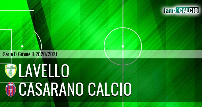 Lavello - Casarano Calcio