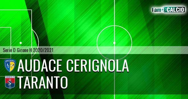 Audace Cerignola - Taranto