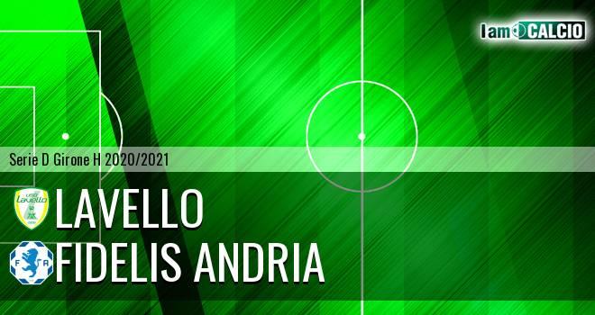 Lavello - Fidelis Andria