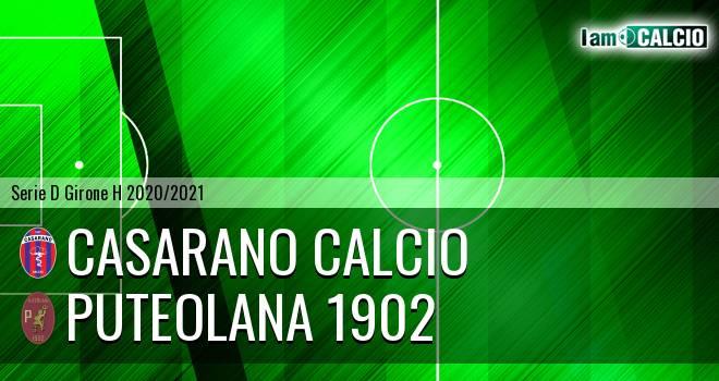 Casarano Calcio - Puteolana 1902