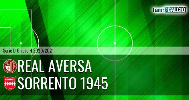 Real Agro Aversa - Sorrento 1945