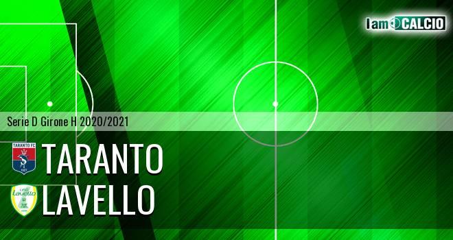 Taranto - Lavello