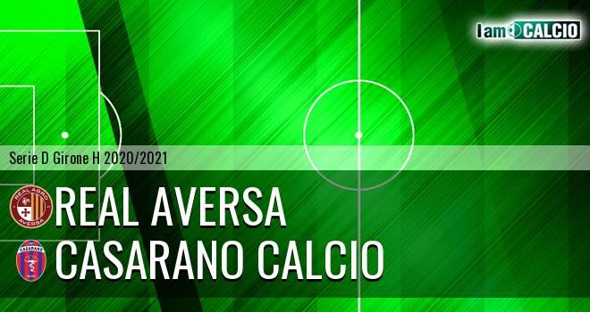 Real Agro Aversa - Casarano Calcio