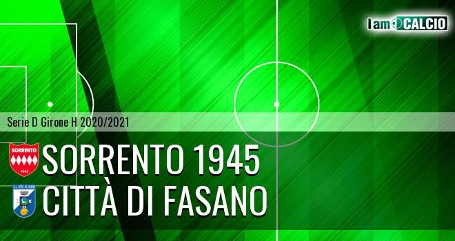 Sorrento 1945 - Citta' di Fasano