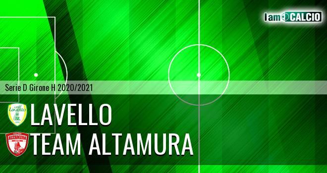 Lavello - Team Altamura