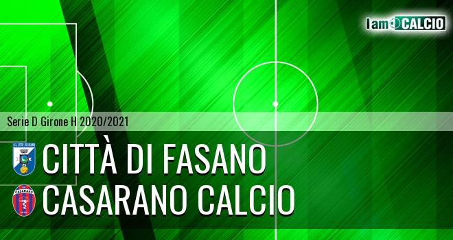 Citta' di Fasano - Casarano Calcio