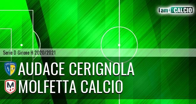 Audace Cerignola - Molfetta Calcio