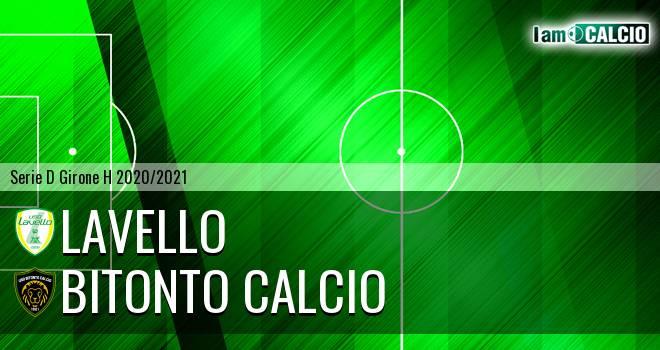 Lavello - Bitonto Calcio