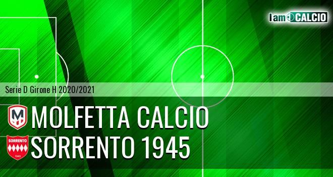 Molfetta Calcio - Sorrento 1945
