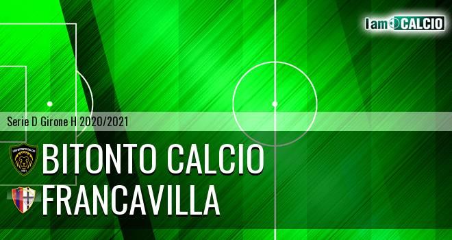 Bitonto Calcio - Francavilla