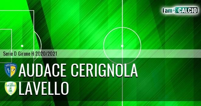 Audace Cerignola - Lavello