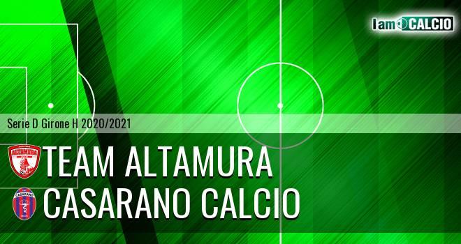 Team Altamura - Casarano Calcio