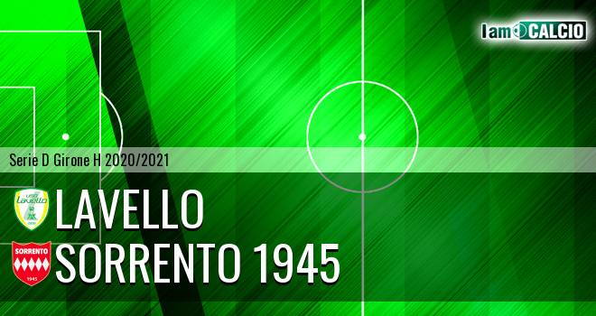 Lavello - Sorrento 1945