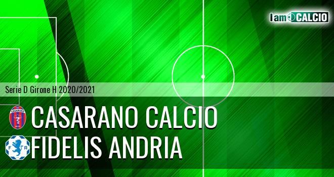 Casarano Calcio - Fidelis Andria