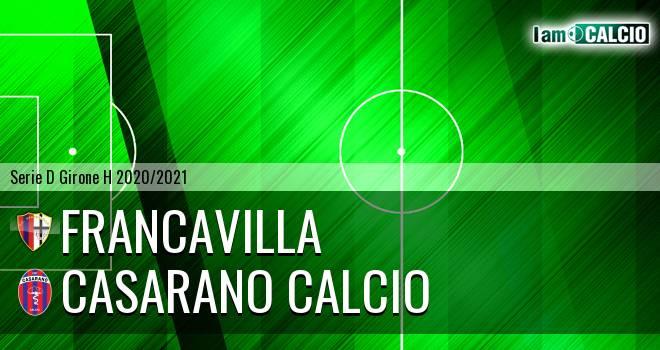 Francavilla - Casarano Calcio