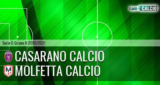 Casarano Calcio - Molfetta Calcio