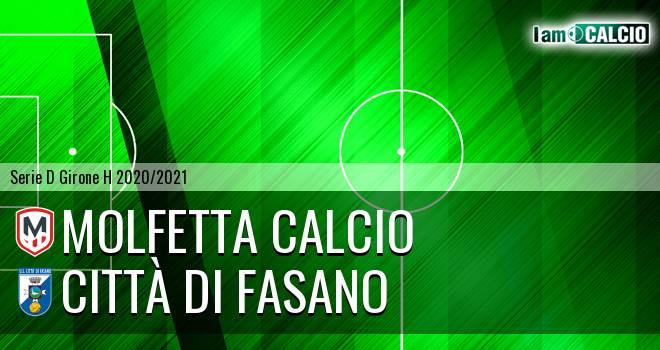 Molfetta Calcio - Citta' di Fasano