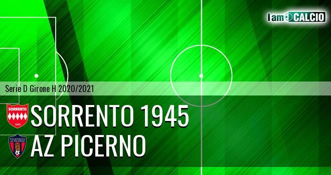 Sorrento 1945 - AZ Picerno