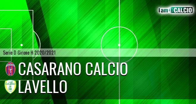 Casarano Calcio - Lavello