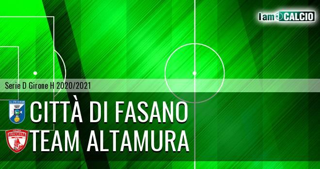 Citta' di Fasano - Team Altamura