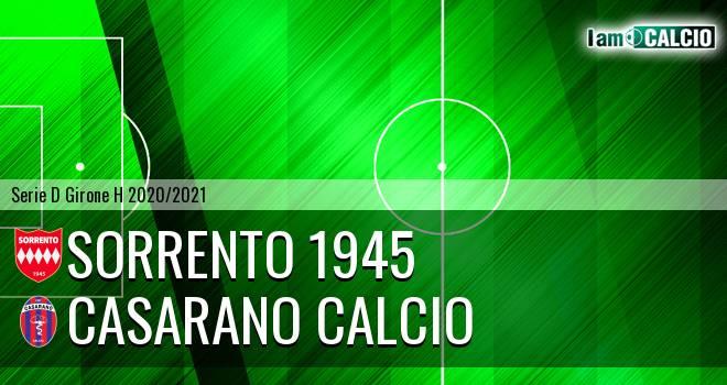 Sorrento 1945 - Casarano Calcio