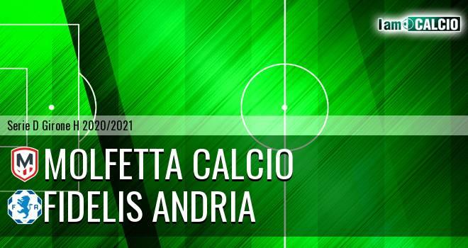 Molfetta Calcio - Fidelis Andria 0-2. Cronaca Diretta 30/05/2021