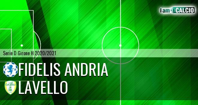 Fidelis Andria - Lavello