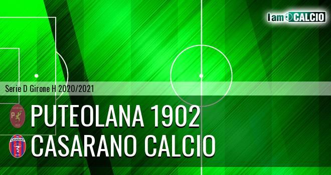 Puteolana 1902 - Casarano Calcio
