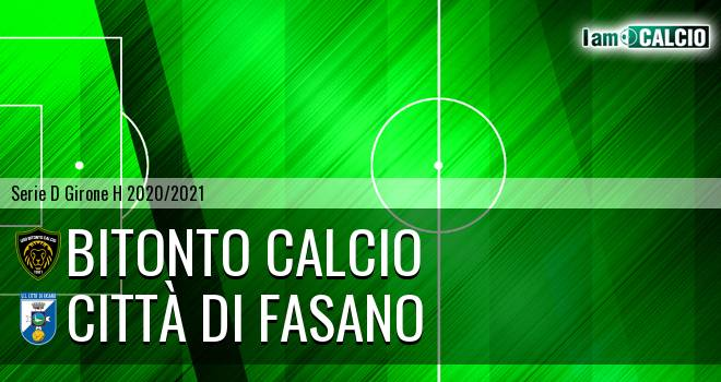 Bitonto Calcio - Citta' di Fasano