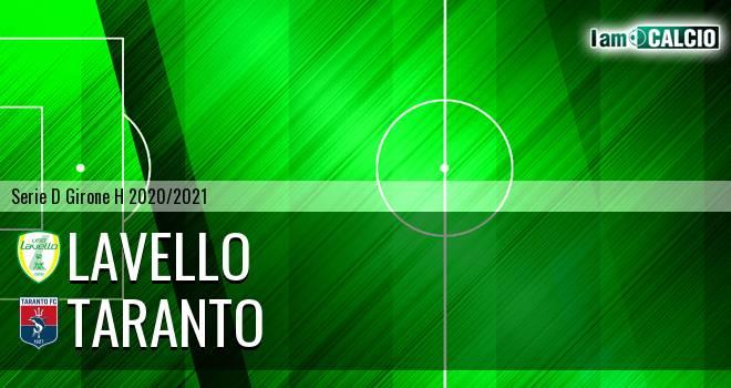 Lavello - Taranto